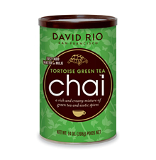 David Rio Tortoise Green Tea Chai, 14 oz