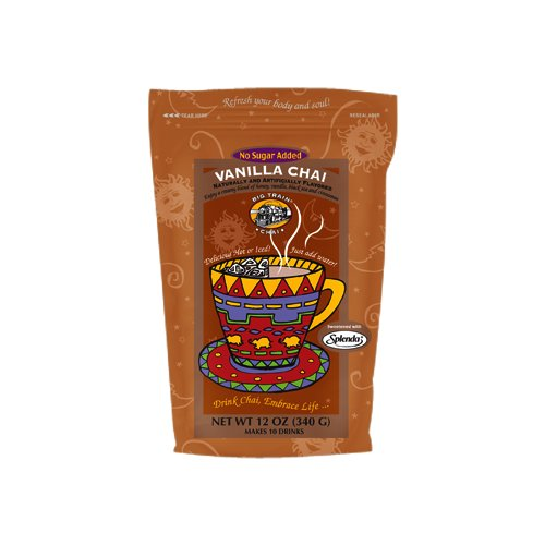 Big Train NO SUGAR ADDED VANILLA Chai- 12 oz Resealable Bag