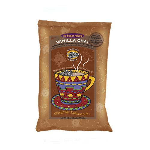 Big Train NO SUGAR ADDED VANILLA Chai- 3.5 lb Bag