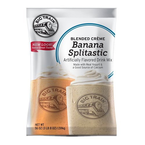 Big Train Banana Splitastic Blended Creme 3.5 lb Bag