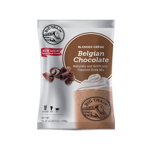 Big Train Belgian Chocolate Blended Creme 3.5 lb Bag