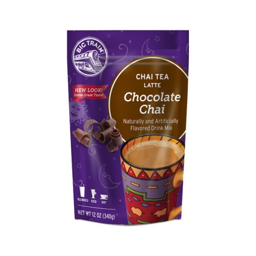 Big Train Chocolate Chai,12 oz Resealable Bag