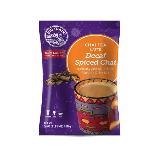 Big Train Decaf Spiced Chai, 3.5 Lb bag