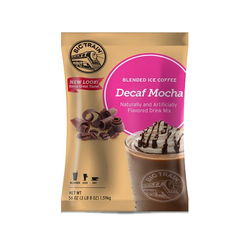 Big Train Decaf Mocha Blended Iced Coffee - Single Serve Packet