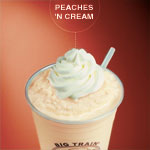 Big Train PEACHES AND CREAM Blended Creme, Single Serve