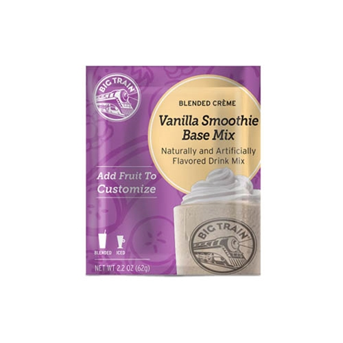 Big Train Vanilla Smoothie Base- single serve