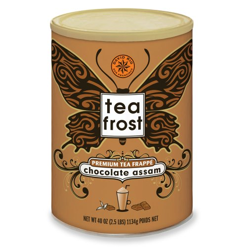 David Rio Tea Frost Chocolate Assam Premium Tea Frappe, 2.5 lb Can