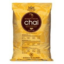 David Rio Giraffe Decaf Tea Chai, 4 lb Bag