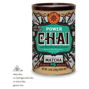 David Rio Power Chai Tea with Matcha (Dairy Free), 14 oz