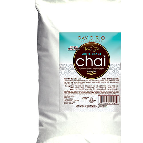 David Rio White Shark Chai Tea, 4 lb bag