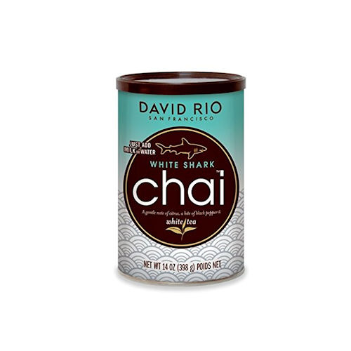 David Rio White Shark Chai Tea, 14 oz