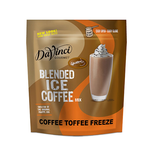 Da Vinci Frappe Coffee Toffee Freeze Coffee Mix - 2.75 lb Bag