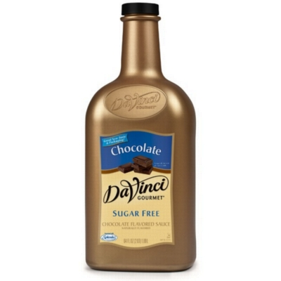 Da Vinci Sugar Free Chocolate Sauce, Half Gallon