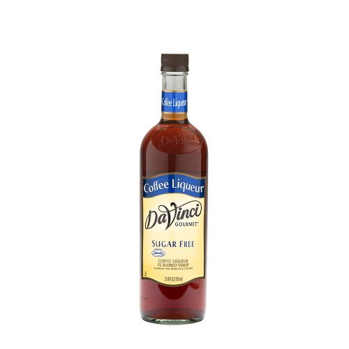 Da Vinci SUGAR FREE Coffee Liquor (formally Kahlua) Syrup with Splenda, 750 ml