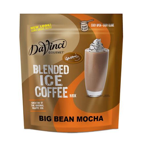 Da Vinci Big Bean Mocha Blended Iced Coffee, 3 lb Bag