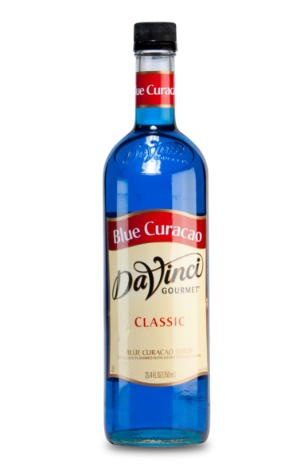 Da Vinci Blue Curacao Syrup, 750 ml Plastic Bottle