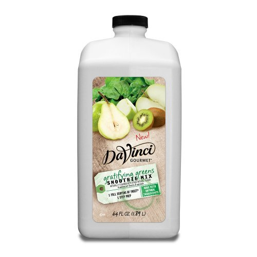 Da Vinci Gratifying Greens Smoothie (All Natural) - 64 oz