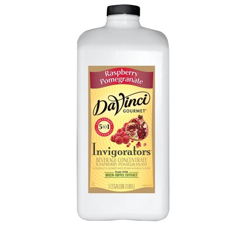 Da Vinci Raspberry Pomegranate Invigorators, 64 oz
