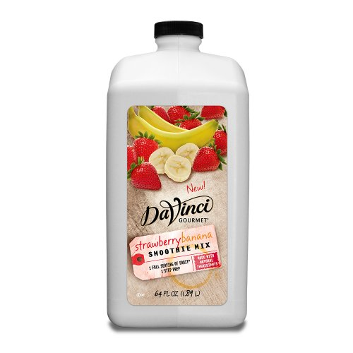 Da Vinci Strawberry Banana Smoothie (All Natural) - 64 oz