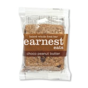 Earnest Eats Choco Peanut Butter Food Bar, 1.9-Oz Bars-Pk of 12