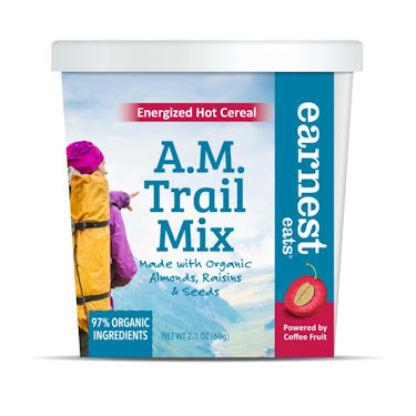Earnest Eats A.M. Trail Mix Energized Hot Cereal, 2.1 Oz-Pk of 12