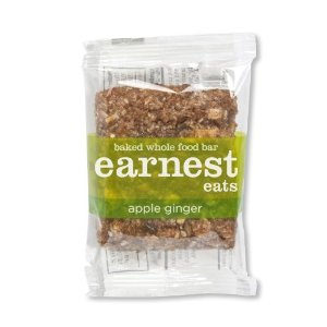 Earnest Eats, Apple Ginger Food Bar, 1.9-Oz Bars (Pack of 12)