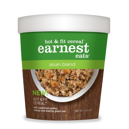 Earnest Eats Asian Blend Hot and Fit Cereal, 2.35 Oz-Pk of 12