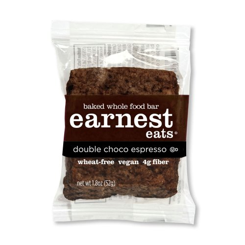 Earnest Eats Dark Choco Espresso Food Bar, 1.8-Oz Bars (Pk of 12)
