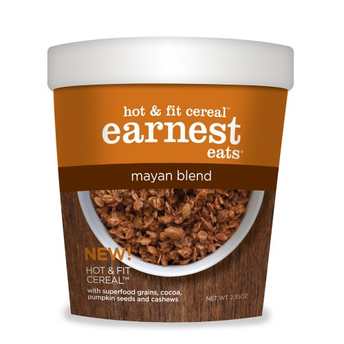 Earnest Eats Mayan Blend Hot and Fit Cereal, 2.35 Oz-Pk of 12
