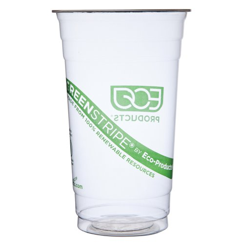 Eco-Products 24 oz GreenStripe Cold Cup-Case of 1,000