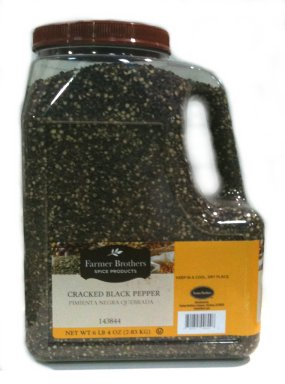 Farmer Brothers Black Pepper - Cracked, 6 lb 4 Oz
