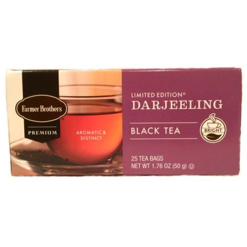 Farmer Brothers Darjeeling Black Tea, 25 bags