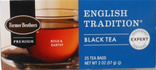 Farmer Brothers English Tradition Tea, 25 bags