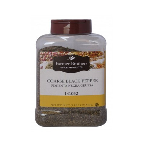 Farmer Brothers Black Pepper - Coarse, 1 lb 2 Oz