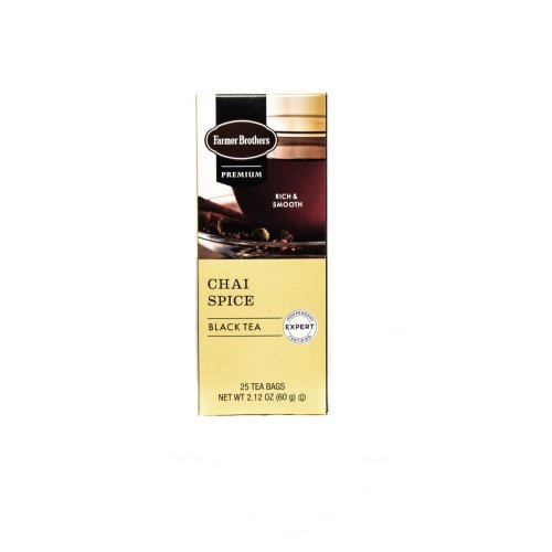 Farmer Brothers Chai Spice Black Tea, 25 bags