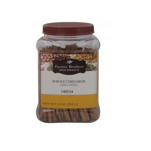 Farmer Brothers Cinnamon Sticks (Whole Cinnamon), 9 oz