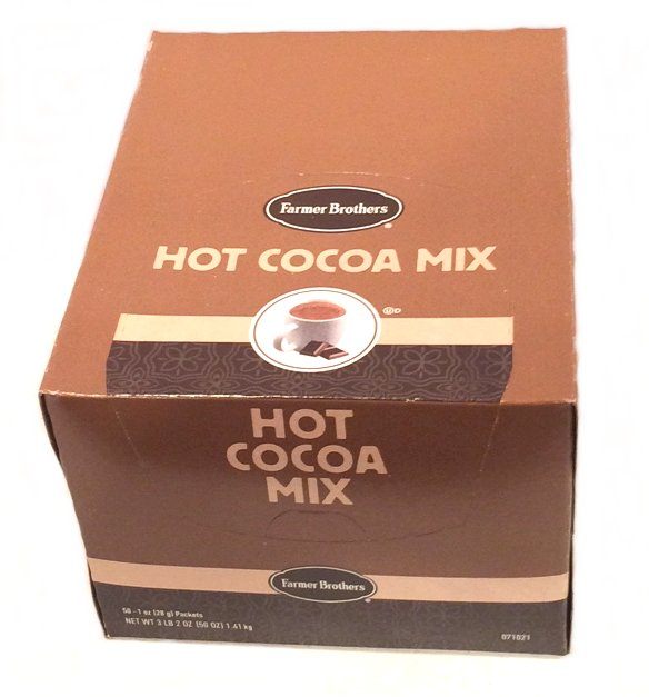 Farmer Brothers Hot Cocoa Mix, 50 Packets