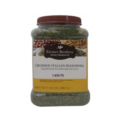 Farmer Brothers Italian Seasoning - Crushed, 10 oz