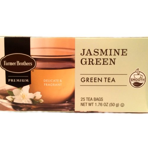 Farmer Brothers Jasmine Green Tea, 25 bags