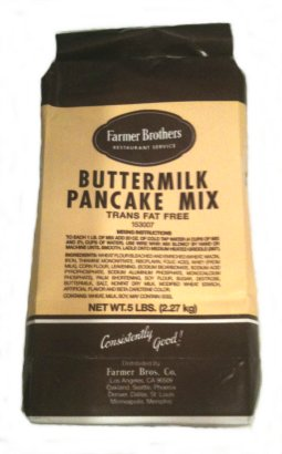 Farmer Brothers Buttermilk Pancake Mix, 5 lb Bag