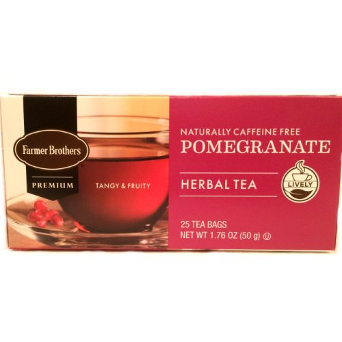 Farmer Brothers Pomegranate Herbal Tea, 25 bags
