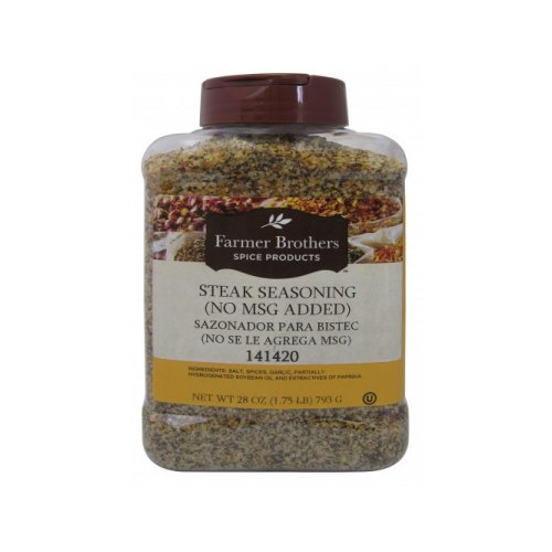 Farmer Brothers Steak Seasoning,1 lb 12 oz Restaurant Size