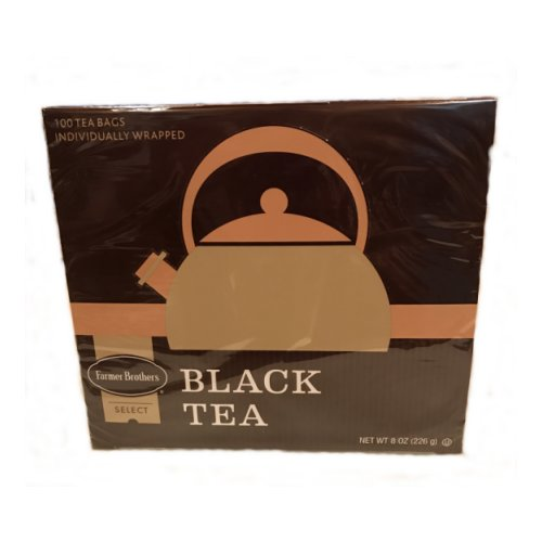 Farmer Brothers Black Tea Bags, 100 count