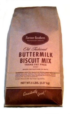 Farmer Brothers Biscuit Mix, Buttermilk, 5 lb Bag