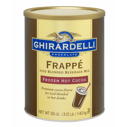 Ghirardelli Frozen Hot Cocoa Mix, 3.12 lb Can (Frozen Hot Cocoa Frappé)