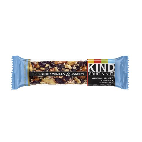 KIND Fruit & Nut, Blueberry Vanilla Cashew Bars- 12 bars