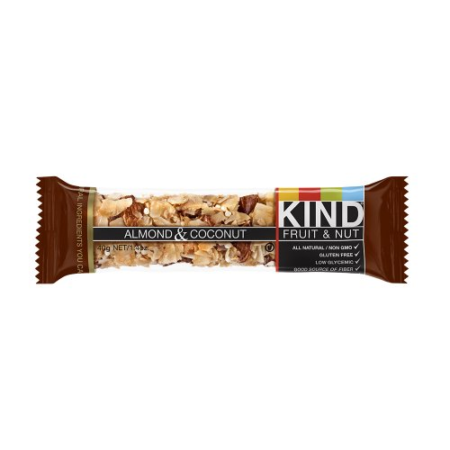 KIND Fruit & Nut, Almond & Coconut Bars- 12 bars