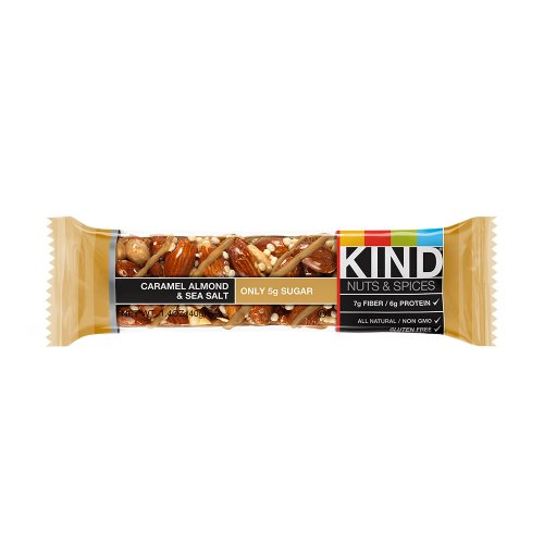 KIND Nuts & Spices, Caramel Almond & Sea Salt Bars-12 bars