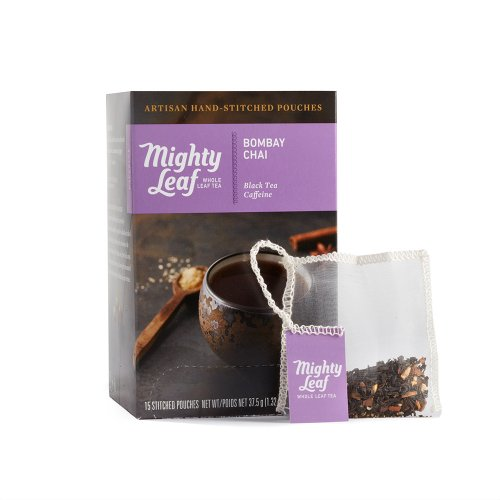 Mighty Leaf Bombay Chai Tea, 15 Tea Pouches