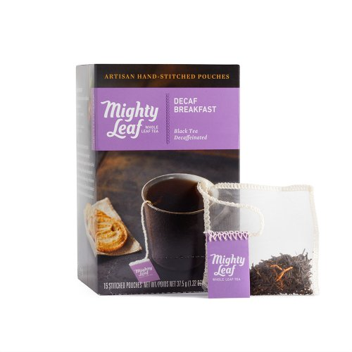 Mighty Leaf Decaf Breakfast Tea, 15 Tea Pouches